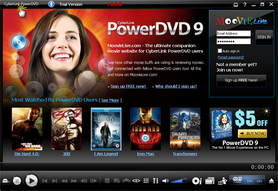 POWERDVD ULTRA EDITION اقوى مشغل